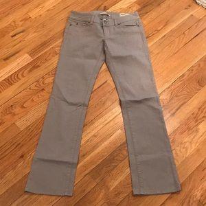 Gap Low Rise Straight Leg Jeans